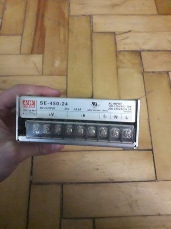 Блок живлення mean well SE-450-24 24B 18.8A