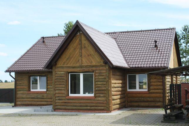 Dom energooszczędny z działką i budynkami
