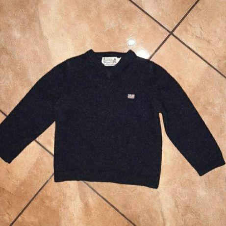 Брендовый теплый свитер на 1-2года