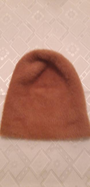 Nowa czapka jasnobrązowa
