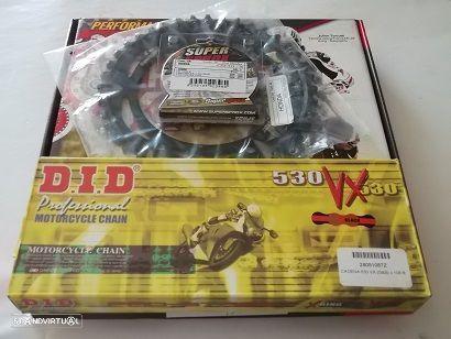 Kit Transmissao corr. DID VX X-Ring Honda CBR 1000 RR fireblade de 2004 a 2017