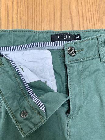 Spodnie wizytowe Khaki dla chlopca 7-8 lat