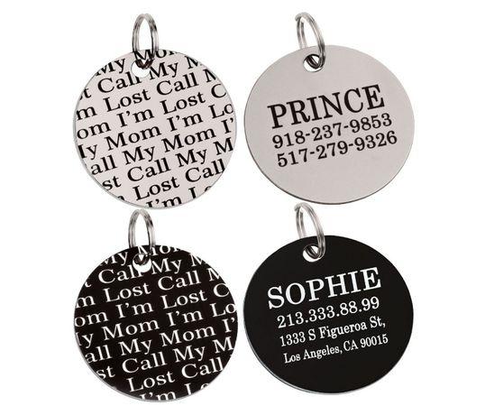 Адресник, жетоны, медальоны для собак (гравировка)