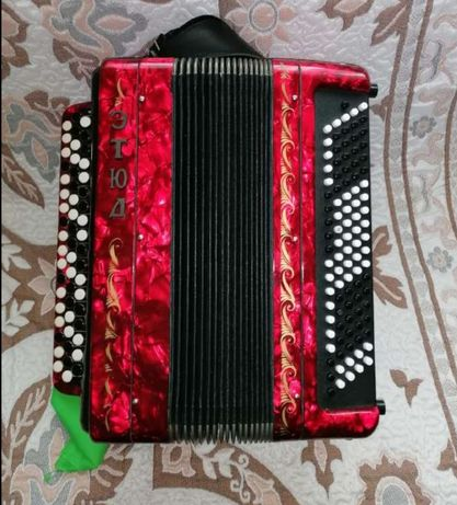 Akordeon guzikowy Bayan ETUDE - 205M2, 55x100 polecam.
