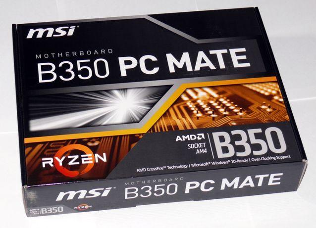 Материнська плата (AM4 MSI B350 PC MATE)