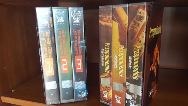 Tajemnice niewyjaśnione   Przepowiednie  Dawne cywilizacje  kaseta VHS