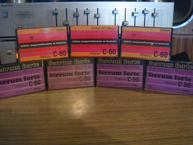 Kasety magnetofonowe Stilon Gorzów zestaw