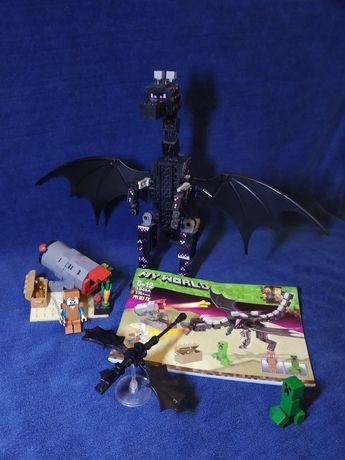 "Лего майнкрафт ,,Дракон""."