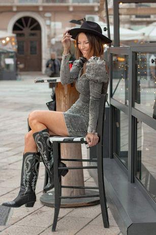Sukienka jeans m/l