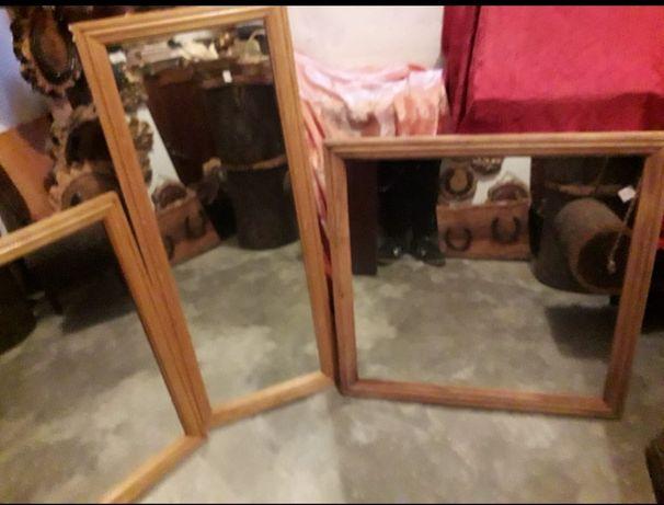 Espelhos de madeira