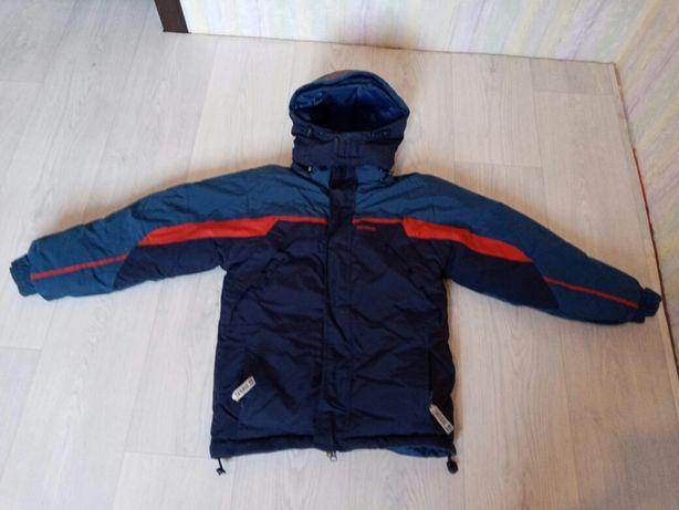 Пакет... Куртка двухстороняя на мальчика 9_12 лет