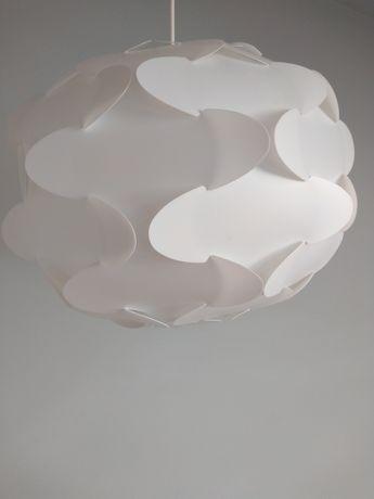Lampa IKEA Fillsta biała kwiat