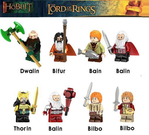 Bonecos minifiguras Hobbit / Senhor dos Anéis nº7(compativel com Lego)