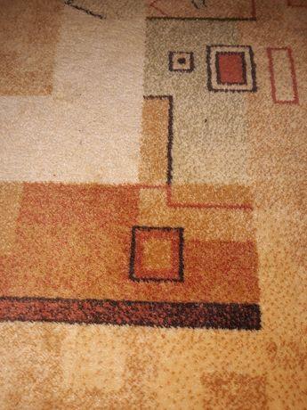 Dywan 100% wełniany oraz dywanik ,komplet Agnella