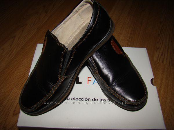 кожаные туфли kangfu размер 31, стелька 20 см