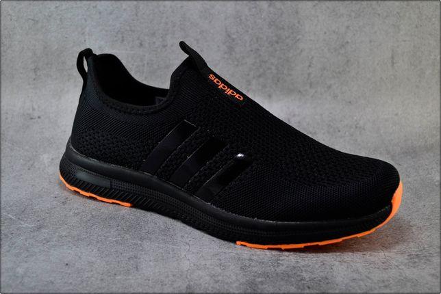 Мужские кроссовки Adidas Free Run Black, Спортивная обувь