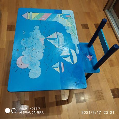 Дитячий столик, детский стол