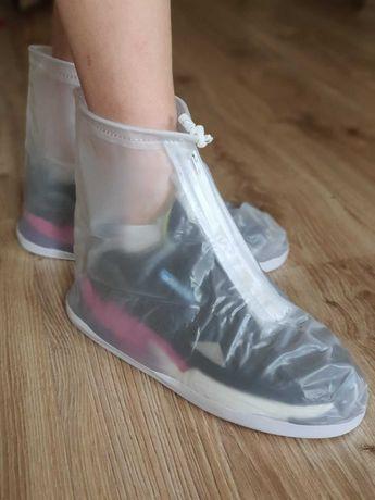 Чехлы на обувь от дождя, водозащитные бахилы, дождевики на обувь