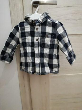 Koszula w krate mothercare 3-6mcy