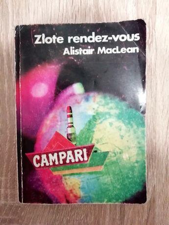 """Alistar MacLean """"Złote randez-vous"""" książka sensacyjna"""