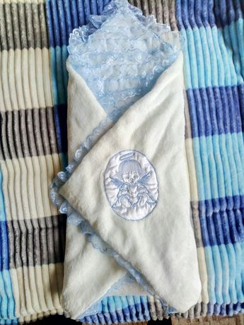 Конверт для новорожденных, одеяло на выписку