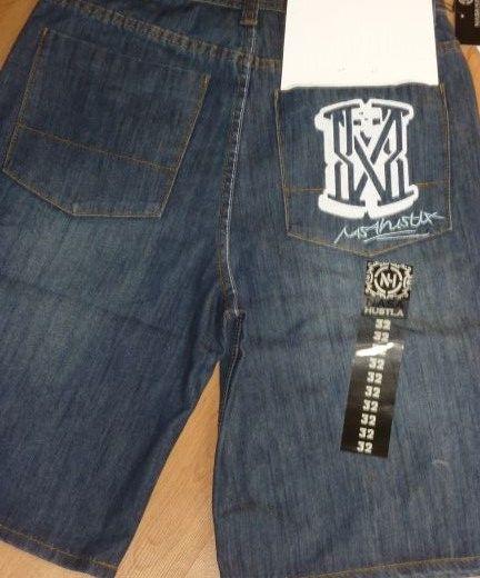spodenki jeansy dżinsy Nasa 34