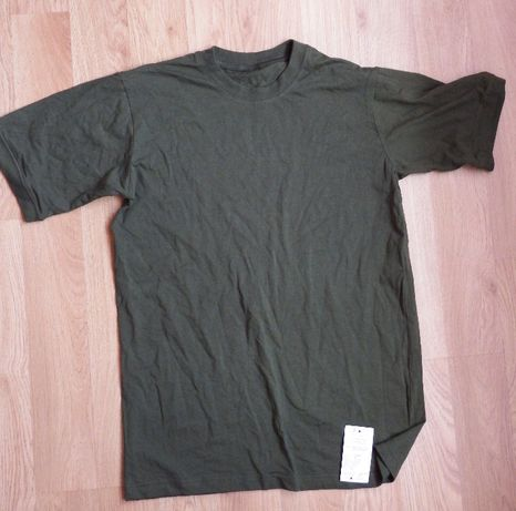 Wojskowa koszulka letnia kolor khaki r. 170/180/kl/94/102
