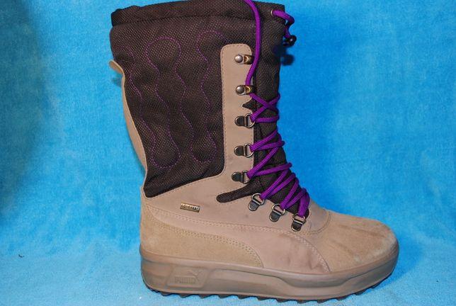 зимние ботинки puma 37 размер на девочку
