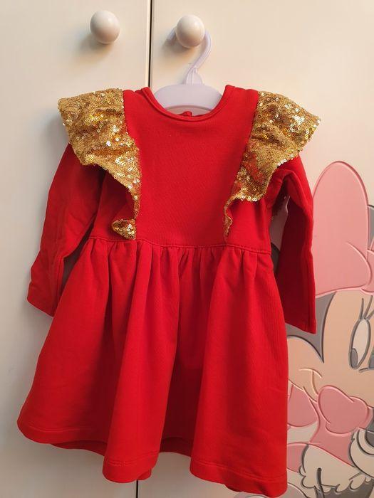 Sukienka dziewczęca roz. 86 Szprotawa - image 1