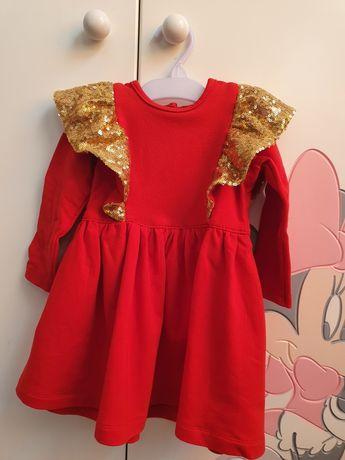 Sukienka dziewczęca roz. 86