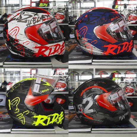 Продам шлем на скутер мотоцикл LS2 FF353 Rapid Naughty White Red