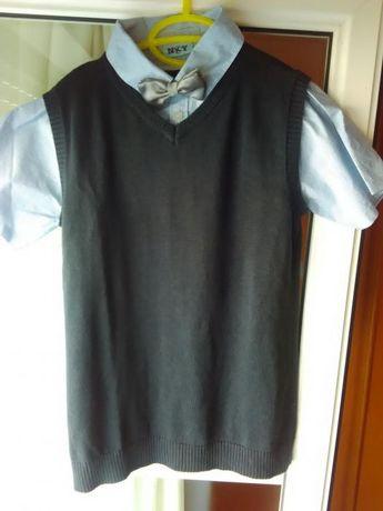 Blusa de comunhão cerimonia menino 10-12 anos