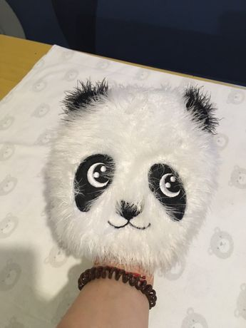 Шапка резинка панда