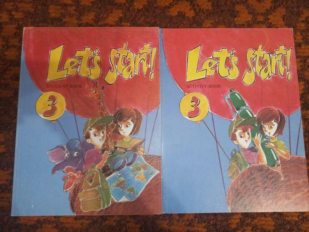 Комплект let's start Уровень 3 student book activity book