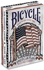 Bicycle: American Flag - karty do gry, 1 talia [nowe]