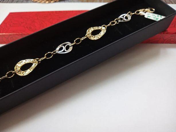 Złota bransoletka złoto 585