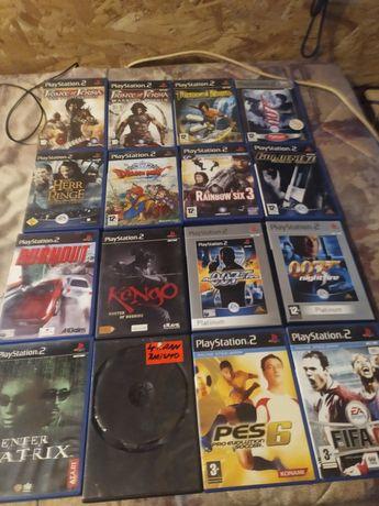 Gry na PS2 sprzedam