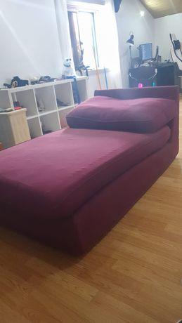 Sofá em estilo chaise long