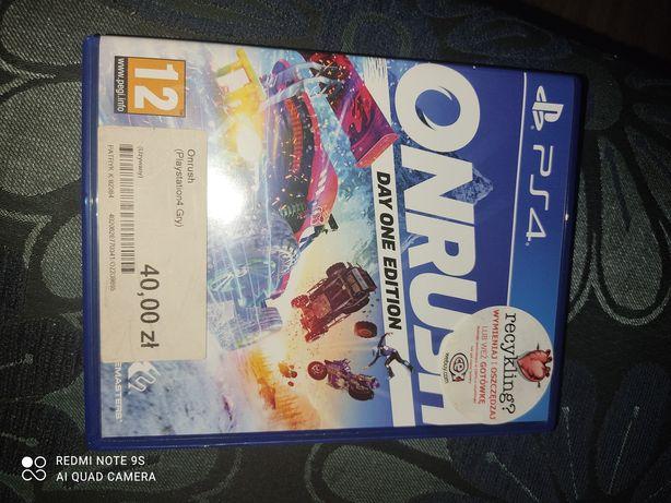Onrush PlayStation 4 ps4