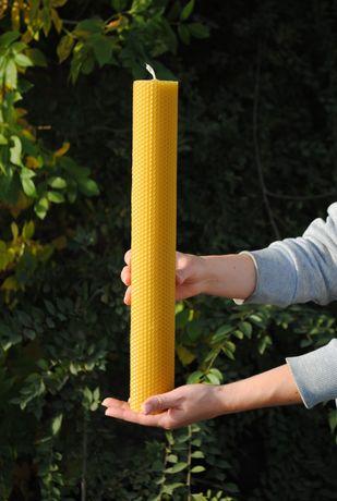Свеча из пчелиного воска,восковая свеча