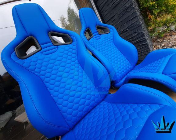 Fotele RECARO CS sportster tapicerka JDM Audi BMW VW Renault Nissan