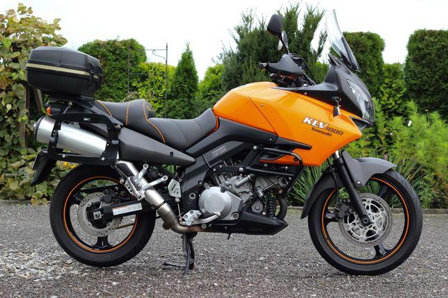 Kawasaki KLV 1000 ! DL 1000 ! 2006r ! LEKKO USZKODZONY ! 60 261 KM !