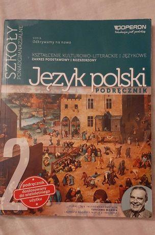 Podręcznik j.polski 2 (technikum,liceum)