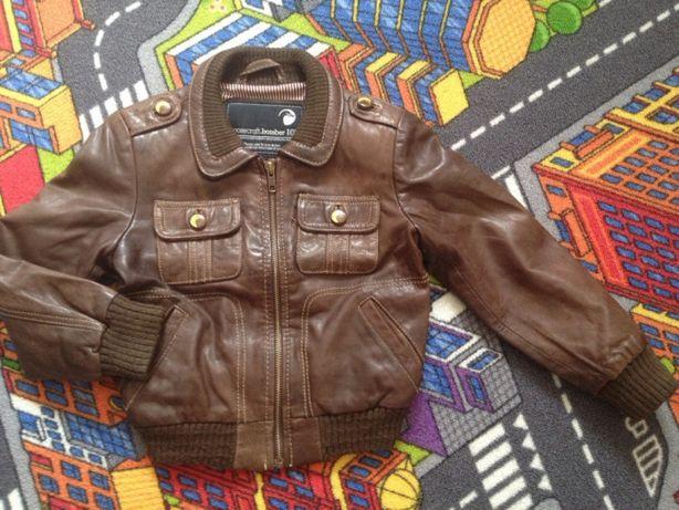 Куртка кожаная 116 р
