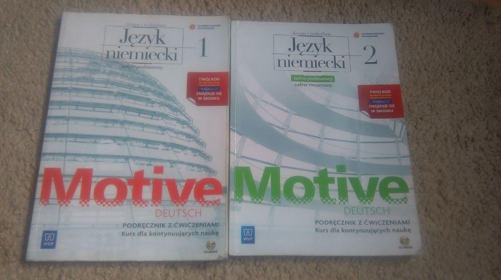 motive deutsch 1 / 2 , podręcznik z ćwiczeniami do j.niemieckiego Granowo - image 1