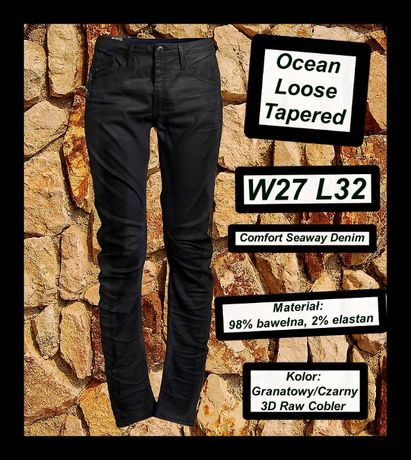 G Star Raw Damskie Ocean Loose Tapered W27 L32