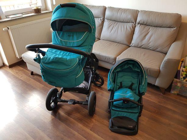 Wózek Bebetto Tito 2w1 + gratis, okazja