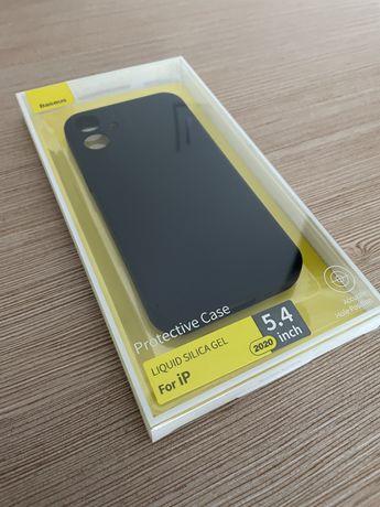 Etui iphone 12 mini czarne