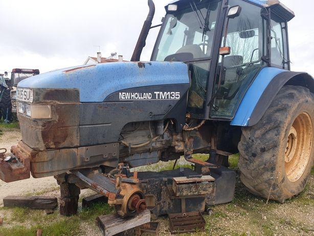 Trator-New Holland TM135 para peças