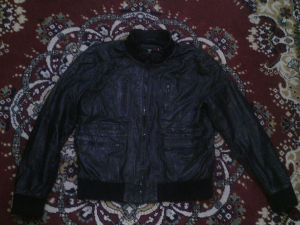 мужская кожаная куртка ashwood размер 50